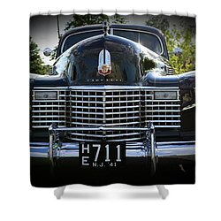 1941 Cadillac Front End Shower Curtain by Paul Ward