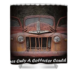 1945 Ford Shower Curtain