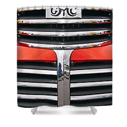 1946 Gmc Truck Grill Shower Curtain