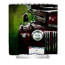 1947 Ford Shower Curtain by Amanda Struz
