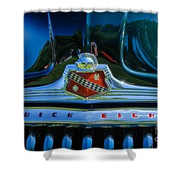 1947 Hood And Grill Shower Curtain