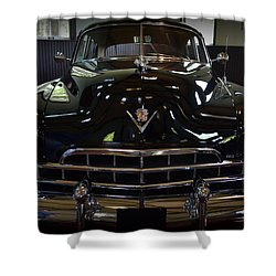 1948 Cadillac Front Shower Curtain by Michelle Calkins