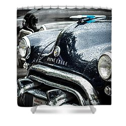1948 Oldsmobile Dynamic Shower Curtain by Ronda Broatch