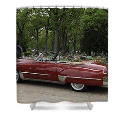 1949 Cadillac Shower Curtain