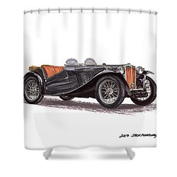 M G T C Shower Curtain