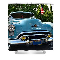 1950 Oldsmobile Shower Curtain