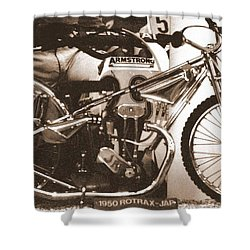 1950 Rotrax-jap Shower Curtain