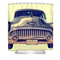 1953 Buick Roadmaster Shower Curtain by Edward Fielding