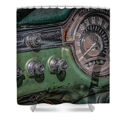1953 Oldsmobile Shower Curtain