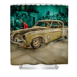 1953 Studebaker Hawk Shower Curtain