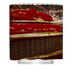 1953 Volvo Pv 444 Shower Curtain