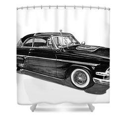 1954 Ford Skyliner Shower Curtain by Jack Pumphrey