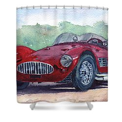 1954 Maserati A6 Gsc Tipo Mm Shower Curtain
