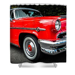 1954 Mercury Monterey Shower Curtain