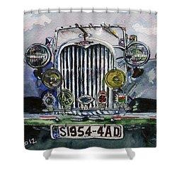 1954 Singer Car 4 Adt Roadster Shower Curtain