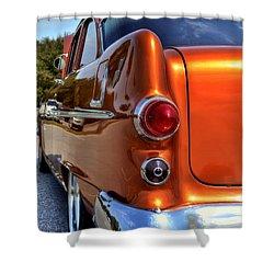1955 Pontiac Shower Curtain