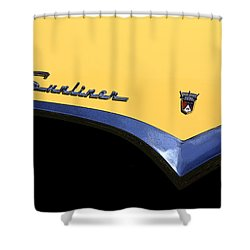 1955 Sunliner Shower Curtain