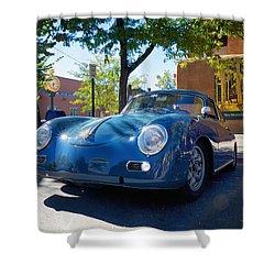 1956 356 A Sunroof Coupe Porsche Shower Curtain