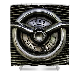 1956 Buick Special Two Shower Curtain