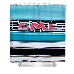 1956 Gmc 100 Deluxe Edition Pickup Truck Shower Curtain by Jill Reger