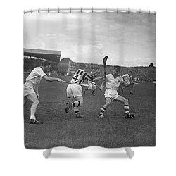 1957 All Ireland Hurling Final Shower Curtain