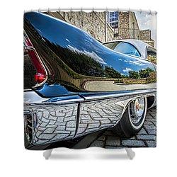 1957 Cadillac Eldorado Shower Curtain