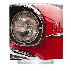 1957 Chevrolet Bel Air Headlight Shower Curtain