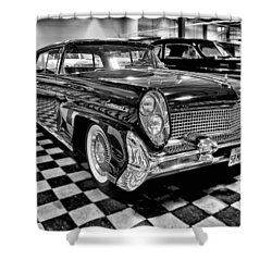 1958 Lincoln Continental Mk IIi Shower Curtain