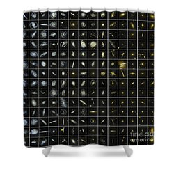 196 Galaxies Shower Curtain by Science Source