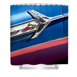 1960 Chevrolet Impala Emblem 7 Shower Curtain by Jill Reger