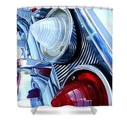 Shower Curtain featuring the photograph 1960 Chevrolet Impala by Joseph Skompski