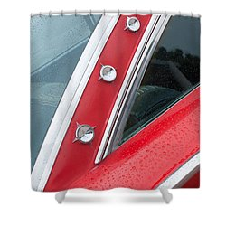 1960 Ford Galaxie Starliner Shower Curtain by Jill Reger