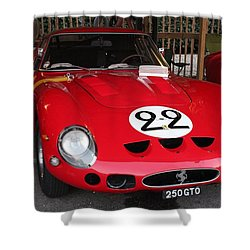 1962 Ferrari Gto Shower Curtain