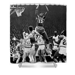 1962 Nba All-star Game Shower Curtain