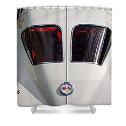 1963 Chevrolet Corvette Split Window -399c Shower Curtain