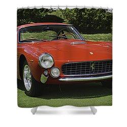 1963 Ferrari 250 Gt Lusso Shower Curtain by Sebastian Musial