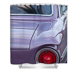 1963 Ford Falcon Tail Light Shower Curtain by Jill Reger