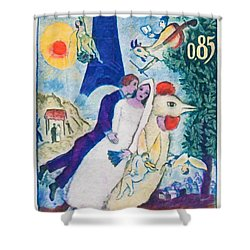 1963 M. Chagall Shower Curtain