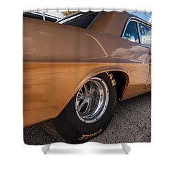 1963 Pontiac Lemans Race Car Shower Curtain