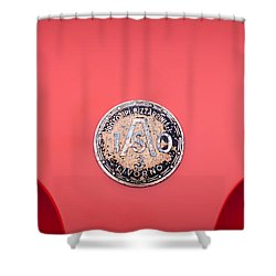 1964 Iso A3c Drogo Coupe Emblem Shower Curtain by Jill Reger