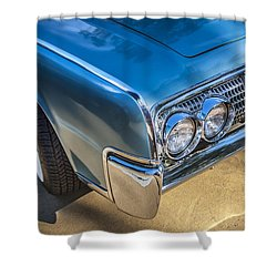 1964 Lincoln Continental Convertible  Shower Curtain by Rich Franco