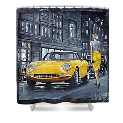 1965 Ferrari 275 Gtb Shower Curtain