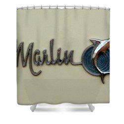 1965 Rambler Marlin Shower Curtain