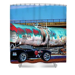 1965 Shelby Cobra II Shower Curtain