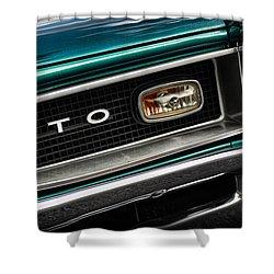 1966 Pontiac Gto Shower Curtain by Gordon Dean II