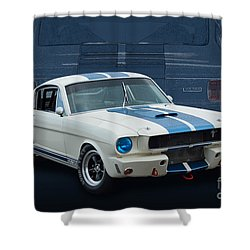1966 Shelby Gt350 Shower Curtain