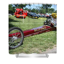 1967 Billy Lynch's Top Fuel Dragster Shower Curtain