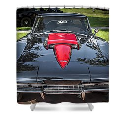 1967 Chevrolet Corvette 427 435 Hp Shower Curtain