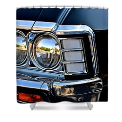 1967 Chevy Impala Front Detail Shower Curtain