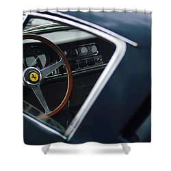 1967 Ferrari 275 Gtb-4 Berlinetta Shower Curtain by Jill Reger